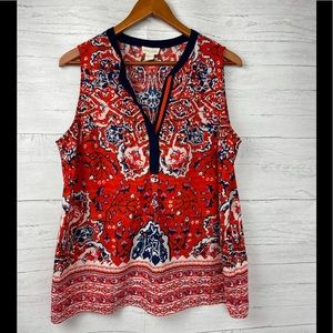 ANTHROPOLOGY LUCY & LAUREL TOP
